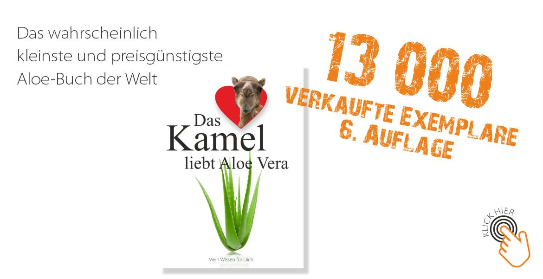 Das Kamel liebt Aloe Vera - 13.000 verkaufte Exemplare