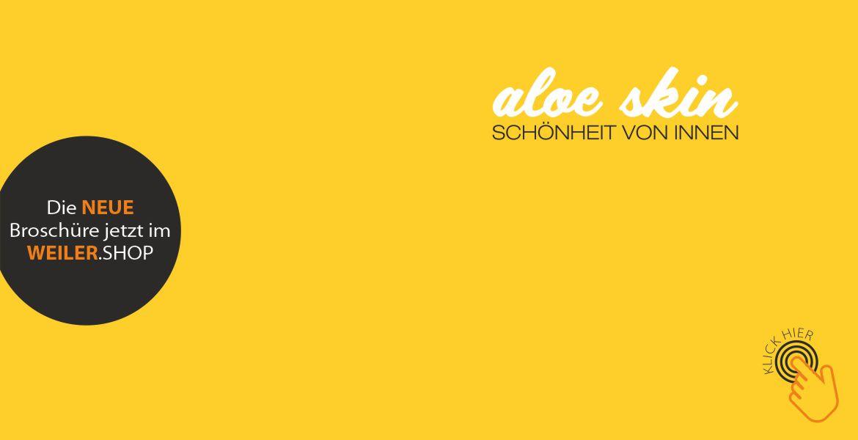 aloe skin - Die Broschüre