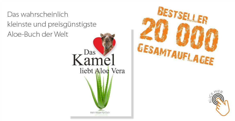 Das Kamel liebt Aloe Vera - 20.000 Gesamtauflage