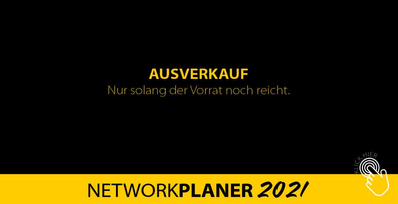 Ausverkauf NETWORKPLANER